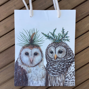 Winter Owls Cub Bag available at Bench Home