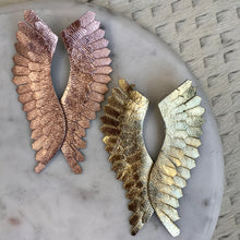 Load image into Gallery viewer, Solid Angel Wing Earrings | 2 Colors
