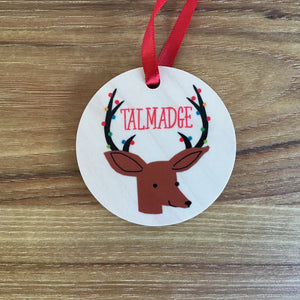 Talmadge Wood Ornaments | 3 Styles available at Bench Home