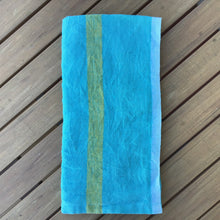 Load image into Gallery viewer, Laundered Linen Aqua Napkins | Set of 4