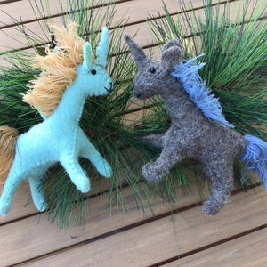 Unicorn Ornaments | 2 Colors available at Bench Home