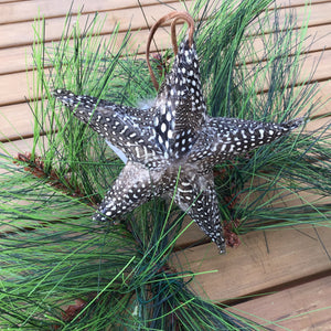 Star Feathered Ornaments | 4 Styles available at Bench Home