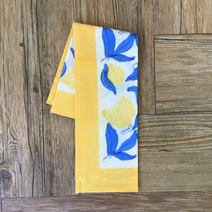Lemon Tree Napkins | Set of 6 available at Bench Home