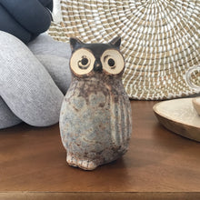 Load image into Gallery viewer, Stoneware Owl Vase | 3 Styles