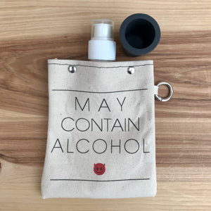 Canvas Flask + Shot Glass | 3 Styles available at Bench Home