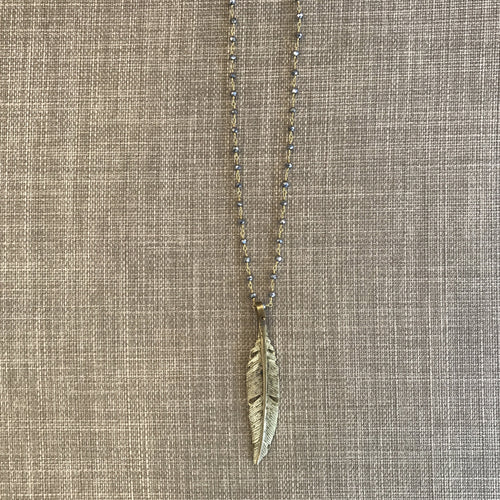 Natura Feather Necklace