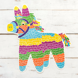 Pinata Paper Placemats | Set of 12 available at Bench Home