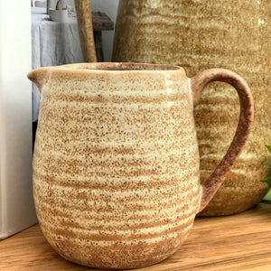 Stoneware Pitcher | 2 Sizes available at Bench Home