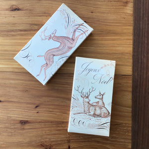 Boxed Matches | Calligraphy Noel available at Bench Home