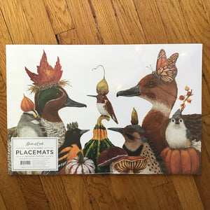 We Gather Together | Paper Placemats | Set of 24 available at Bench Home
