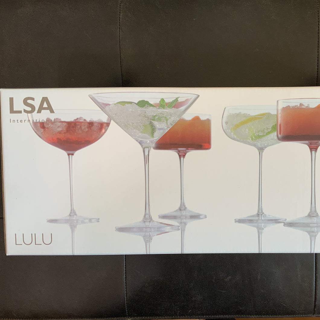 Lulu Champagne & Cocktail Glass | Set of 4