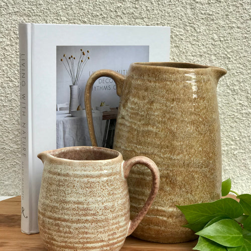 Stoneware Pitcher | 2 Sizes