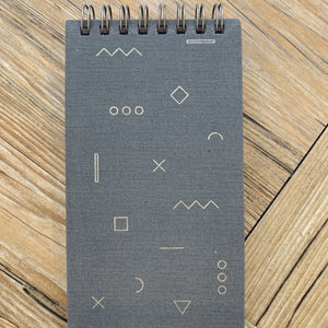 Mini Note Pad Taupe available at Bench Home
