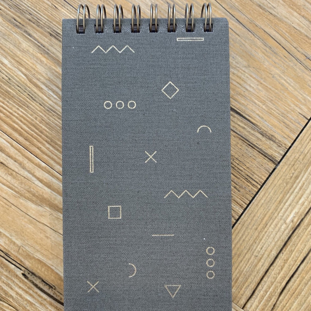 Mini Note Pad Taupe