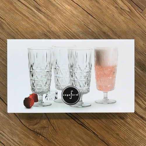 Picnic Champagne Glasses | Set of 4