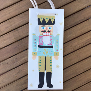 Nutcracker Wine Gift Bag available at Bench Home