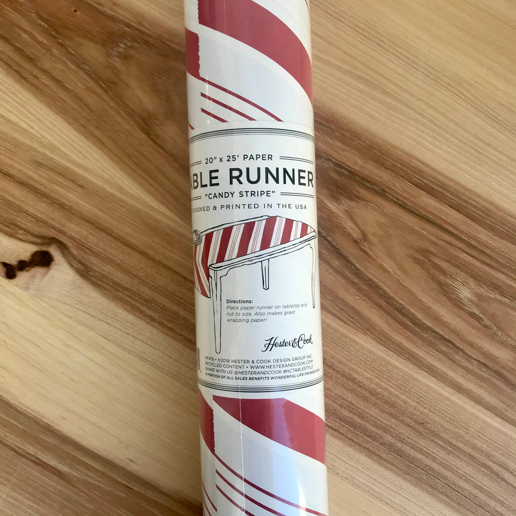 Table Runner | Candy Stripe