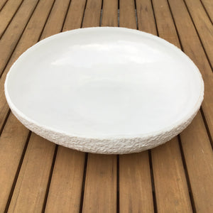 Mara Sand Serving Bowl | 2 Sizes available at Bench Home
