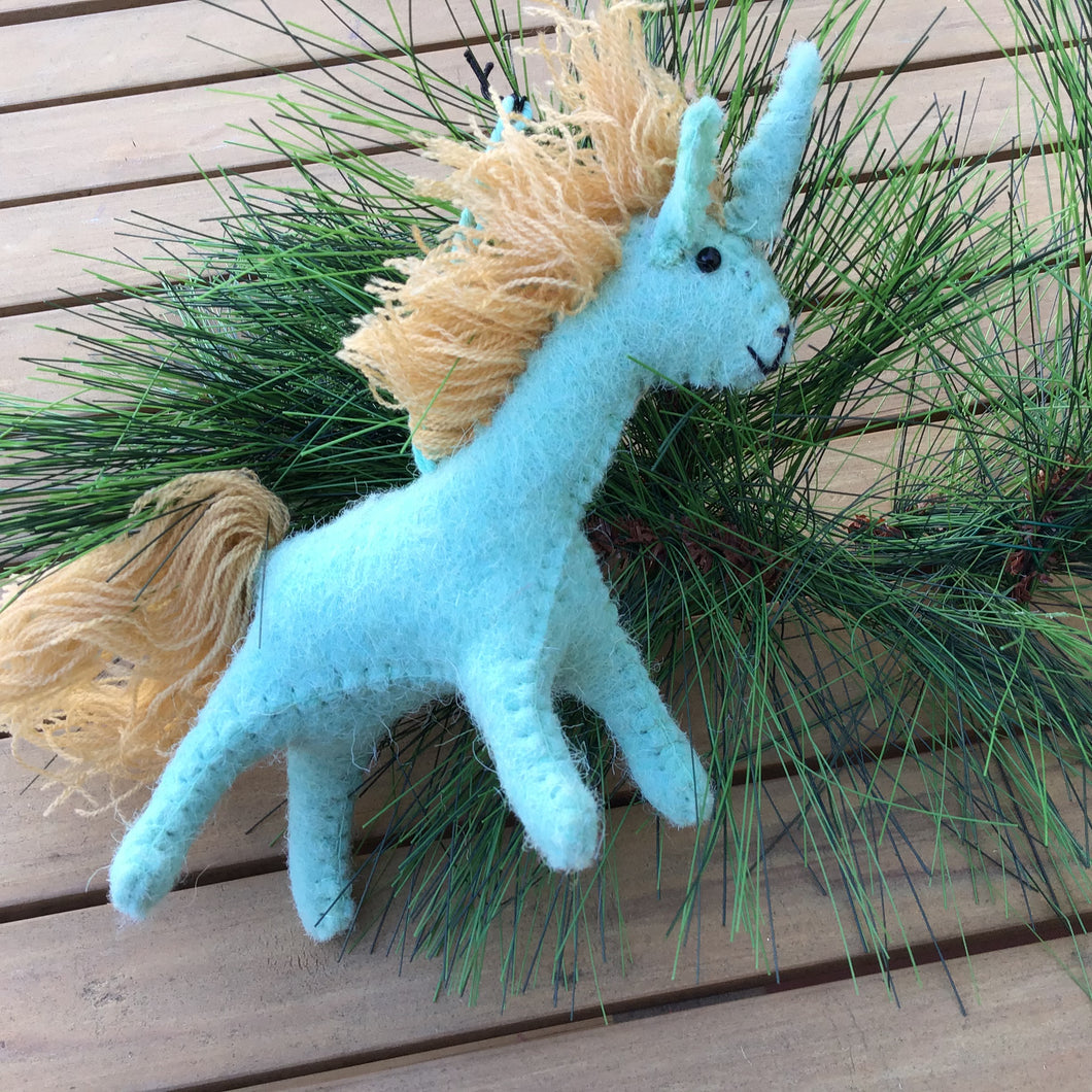 Unicorn Ornaments | 2 Colors