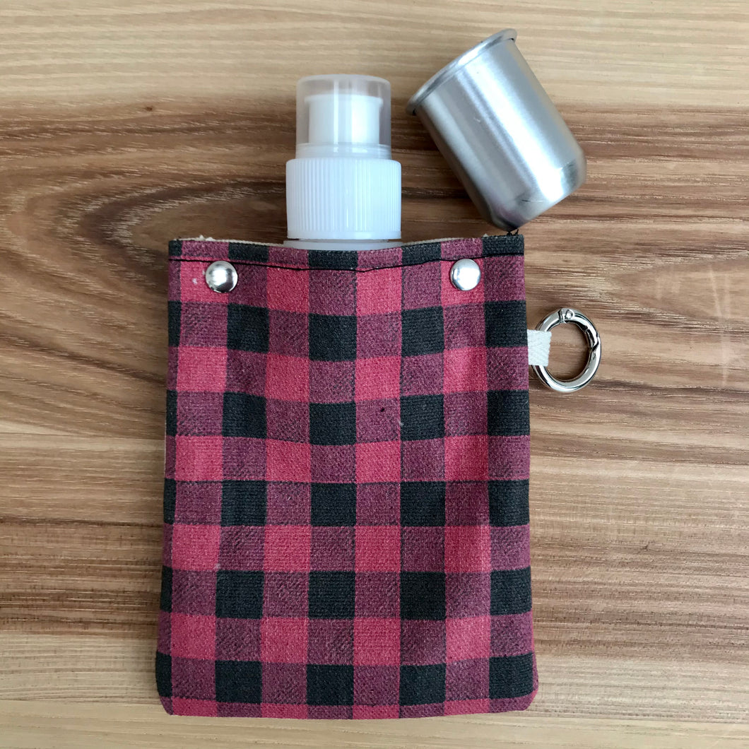 Canvas Flask + Shot Glass | 3 Styles