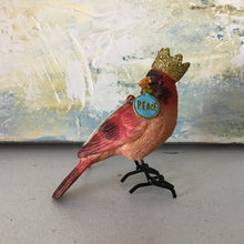 Load image into Gallery viewer, Crowned Bird Ornament | 4 Styles
