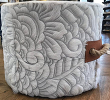 Load image into Gallery viewer, Escano Cascara Etched Ottoman