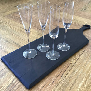 Lulu Champagne Flutes | Set of 4 available at Bench Home