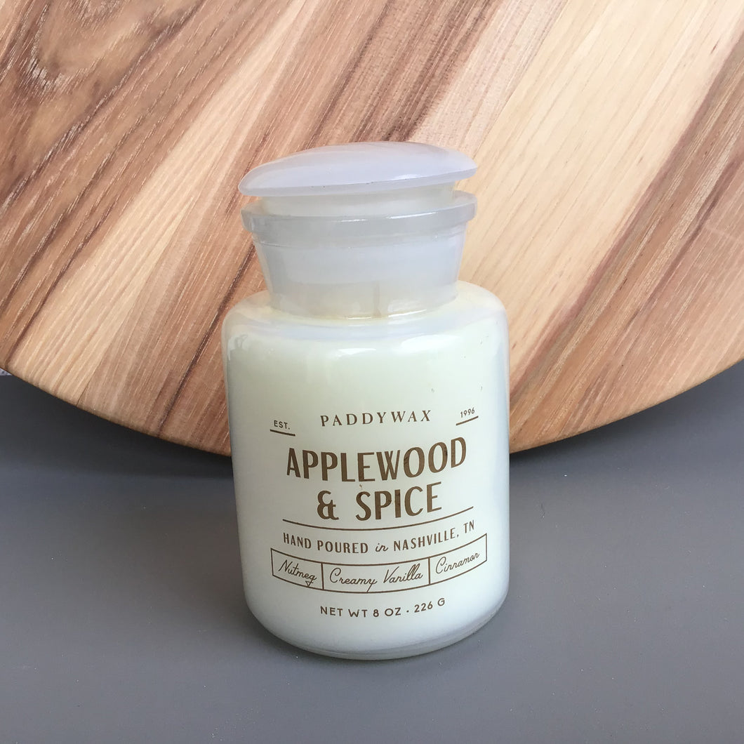 Farmhouse Applewood & Spice Candle