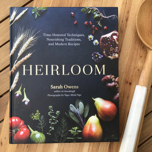 Heirloom Cookbook available at Bench Home