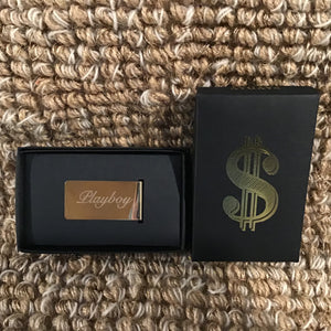 Brass Money Clip | 2 Styles available at Bench Home