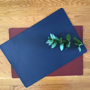 Leather Placemat | 2 Colors available at Bench Home