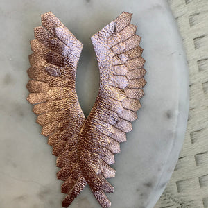 Solid Angel Wing Earrings | 2 Colors available at Bench Home