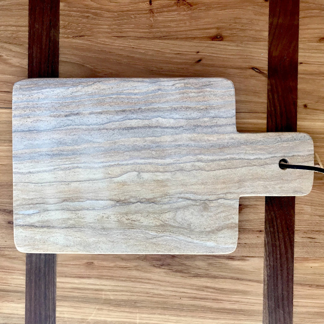 Natural Sandstone Cheese Board | 2 Styles