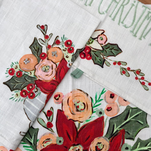 Christmas Tea Towel | 3 Styles