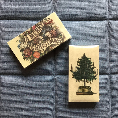 Boxed Matches | Holiday Tree & A Merry Christmas