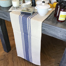Load image into Gallery viewer, Cotton Canvas Table Runner