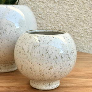 Rounded Plant Pot | 2 Sizes available at Bench Home