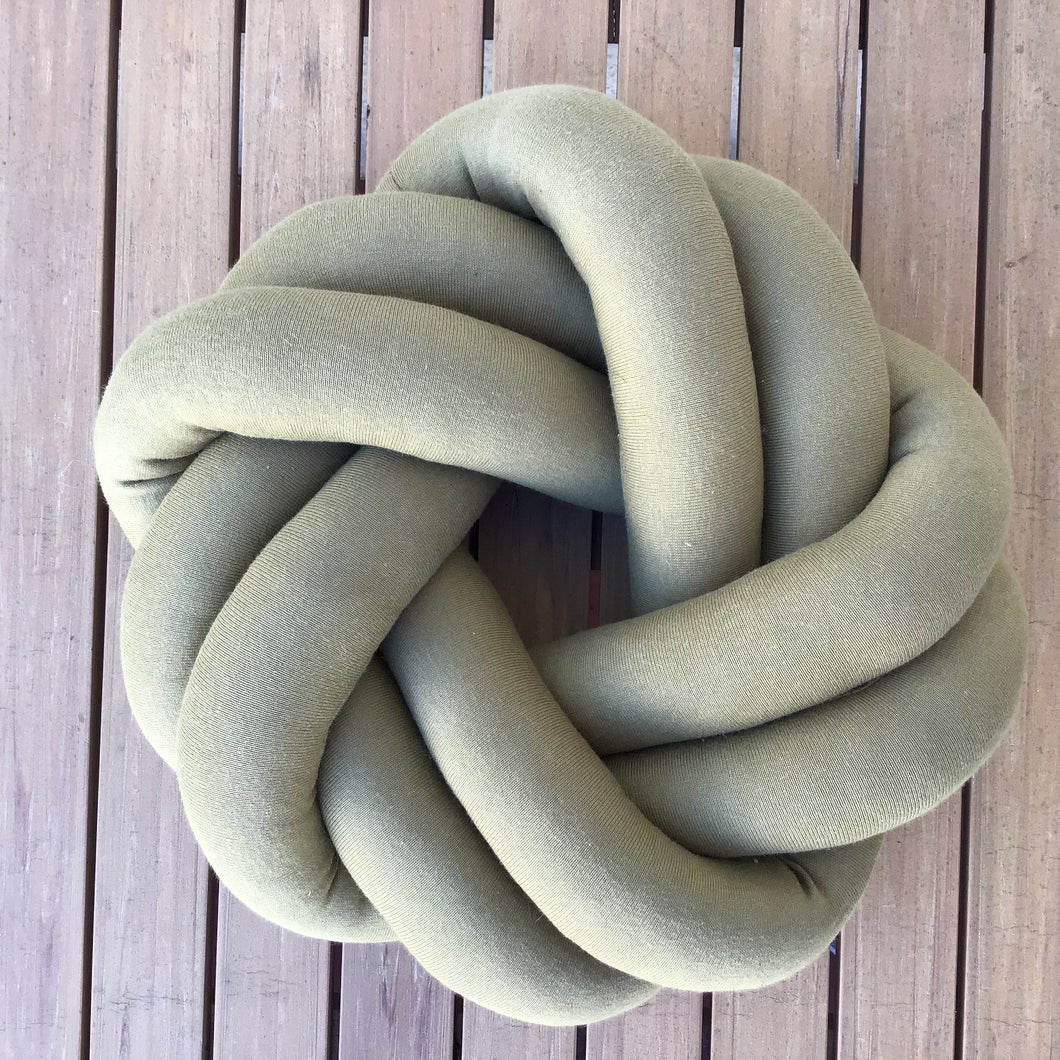 Petite Ring Knot Pillow | 5 Colors