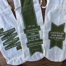 Load image into Gallery viewer, Cotton Wine Bags | 3 Styles