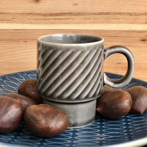 Gray Espresso Cup | 3 Styles available at Bench Home