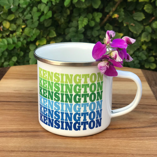 Kensington Supergraphics Camp Mug | 2 Colors