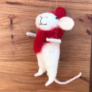 Christmas Mouse Ornament | 5 Styles available at Bench Home