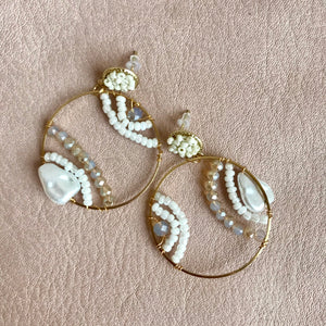 Liza Hoop Earrings | 2 Styles available at Bench Home