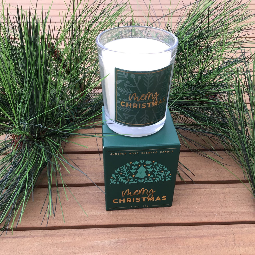 Juniper Moss Votive Candle | 3 Styles