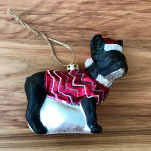 Bundled Up Dog Ornament | 4 Styles available at Bench Home