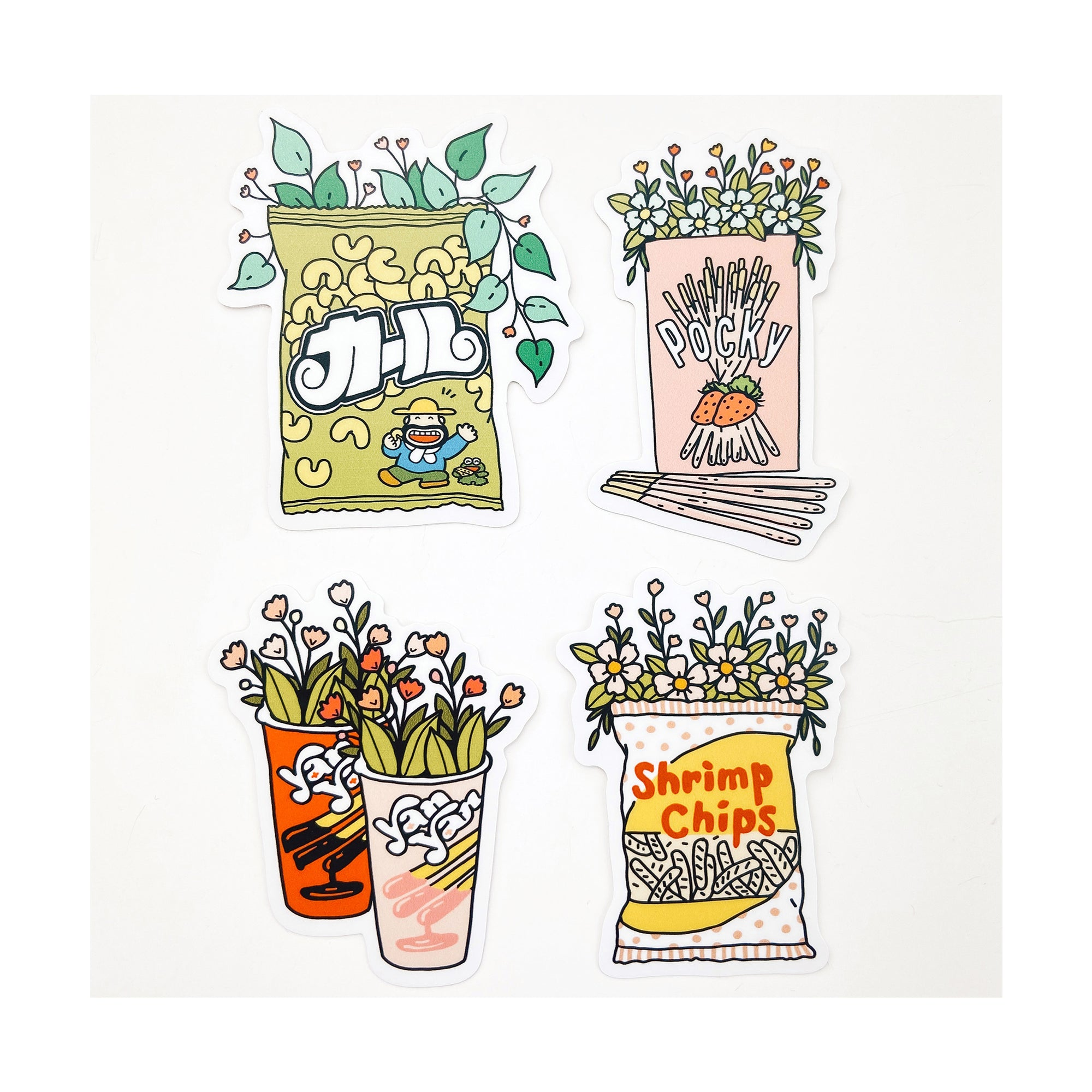 Snack Time Sticker Pack