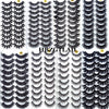 100% Real Mink Eyelashes (Pack of 10)