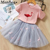 Summer Baby Girls Clothing Sets