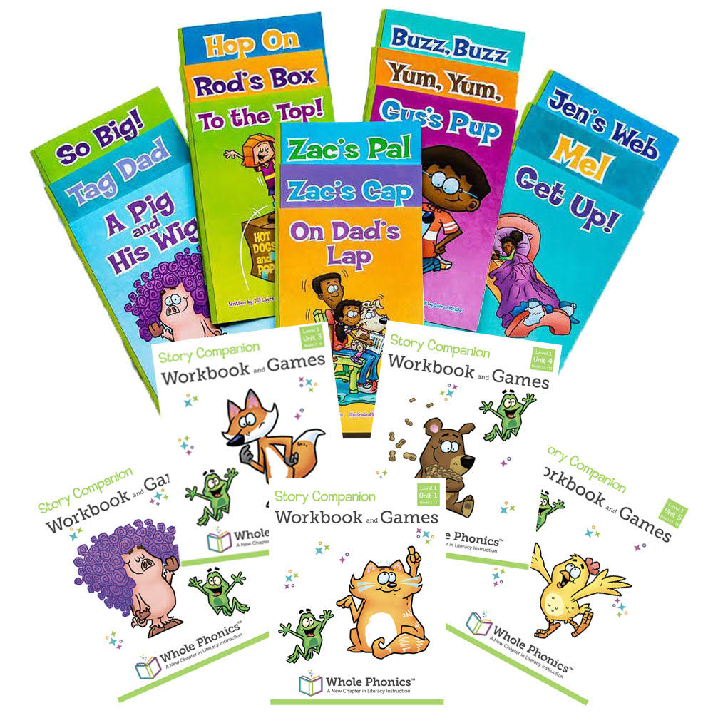 Level 1 Complete Set, Readers and Workbooks