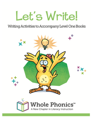 Let's Write, Level 1 Activities